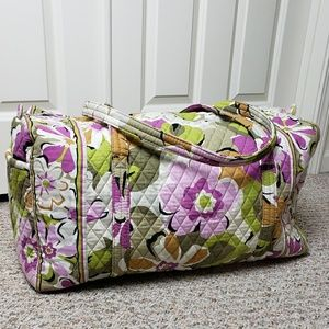 Vera Bradley Portobello Road Large Duffle Bag